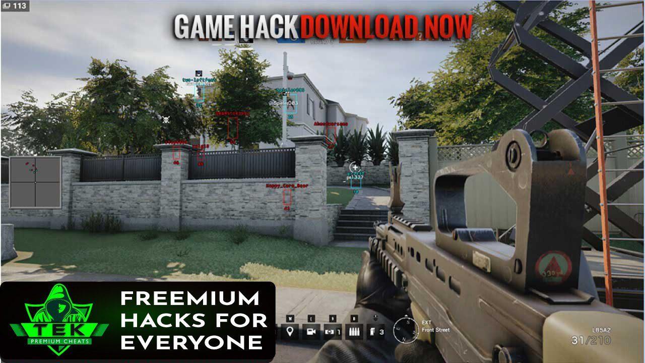 BEST RAINBOW SIX SIEGE HACKS - Download BEST RAINBOW SIX SIEGE HACKS for FREE - Free Cheats for Games