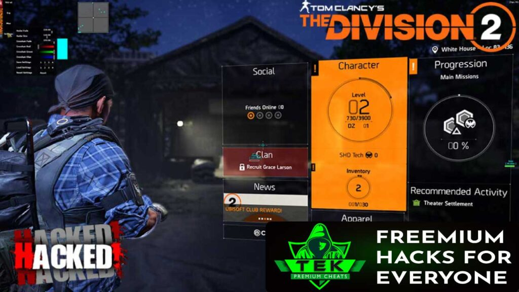 THE DIVISION 2 HACKS
